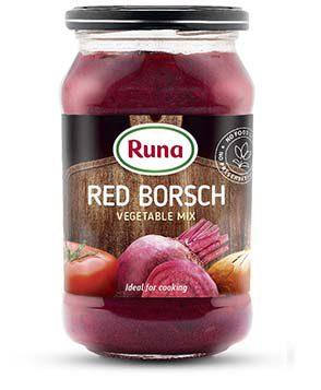 Red borsch (vegetable mix)