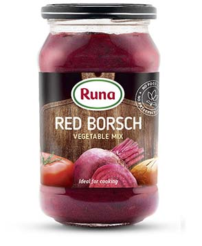 Red borsch (vegetable mix)