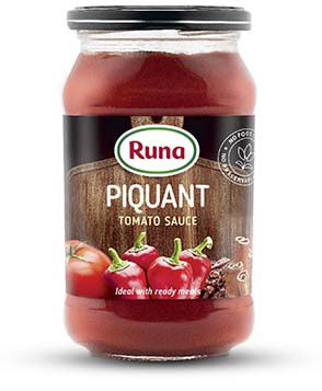 """Piquant"" tomato sauce"