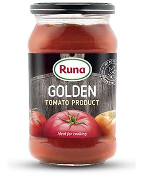 """Tomato product """"Golden"""" with 20% of dry matter"""