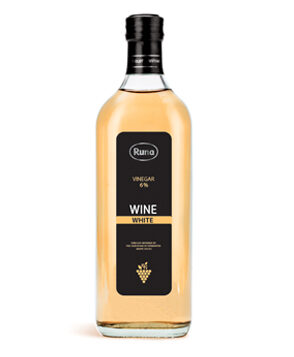 "Natural vinegar 6% wines ""White"""