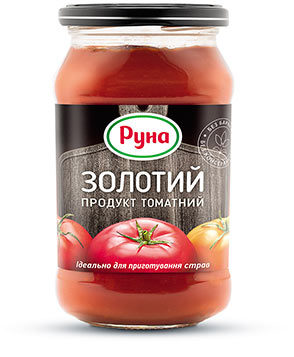 Томатный продукт «Золотой» с содержанием сухих веществ 20%