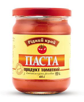 Томатный продукт с содержанием сухих веществ 15%