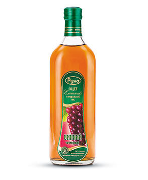 "Natural vinegar 6% ""Red wine"" (0.5 liters)"