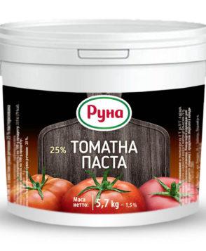 HoReCa Томатная паста с содержанием сухих веществ 25%