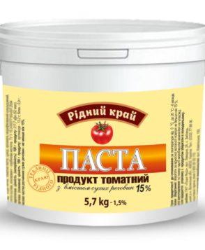 HoReCa Томатная паста 15% ТМ «Родной край»