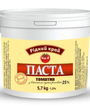 HoReCa Томатная паста 25%                ТМ «Родной край»