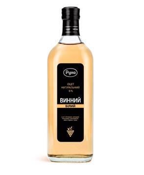 Уксус натуральный 6% винный «Белый»