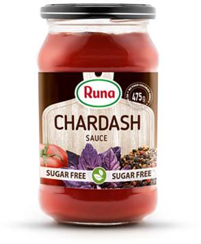 """Chardash"" tomato sauce with stevia"