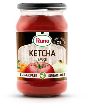 """Ketcha"" tomato sauce with stevia"